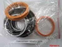 Ремкомплект гидроцилиндра стрелы, ковша ЕК-12-100х63/1,2б-ТП